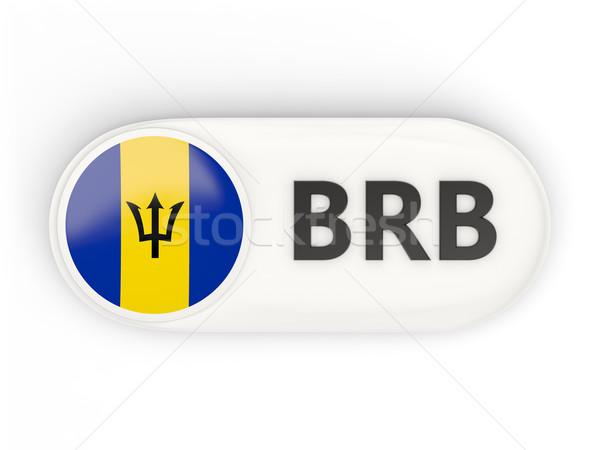 Stockfoto: Icon · vlag · Barbados · iso · code · land