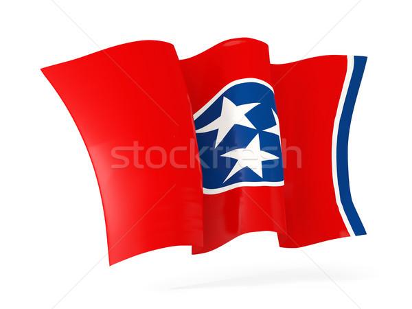 Tennesse bandera icono Estados Unidos Foto stock © MikhailMishchenko