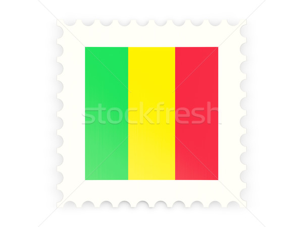 Postage stamp icon of mali Stock photo © MikhailMishchenko