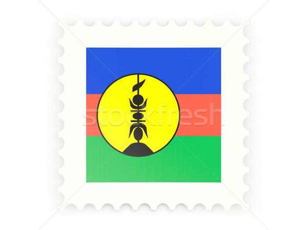 Postage stamp icon of new caledonia Stock photo © MikhailMishchenko