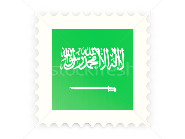 Postage stamp icon of saudi arabia Stock photo © MikhailMishchenko
