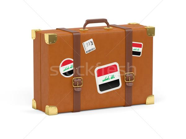 Suitcase with flag of iraq Stock photo © MikhailMishchenko