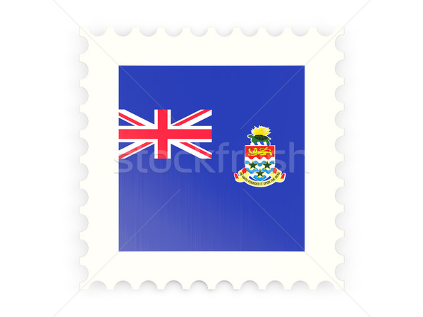 Stock photo: Postage stamp icon of cayman islands