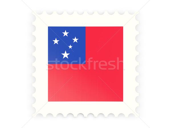 Postage stamp icon of samoa Stock photo © MikhailMishchenko