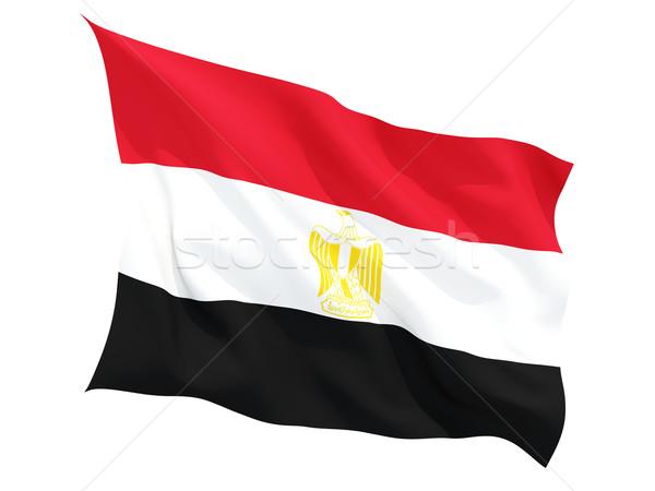 フラグ エジプト 孤立した 白 ストックフォト © MikhailMishchenko