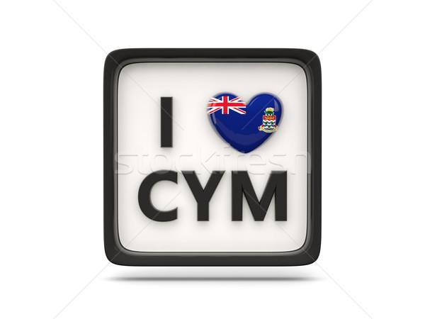 I love cayman islands sign Stock photo © MikhailMishchenko