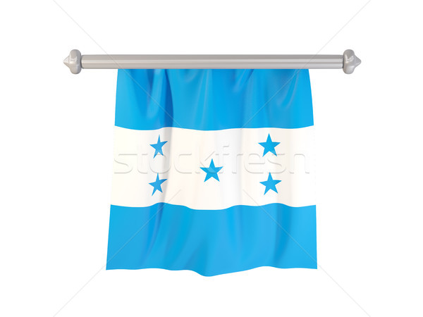 Pennant with flag of honduras Stock photo © MikhailMishchenko