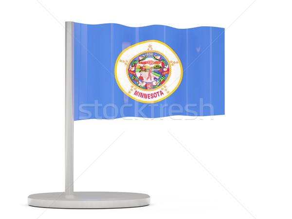 Stock fotó: Zászló · tő · Minnesota · Egyesült · Államok · helyi · zászlók