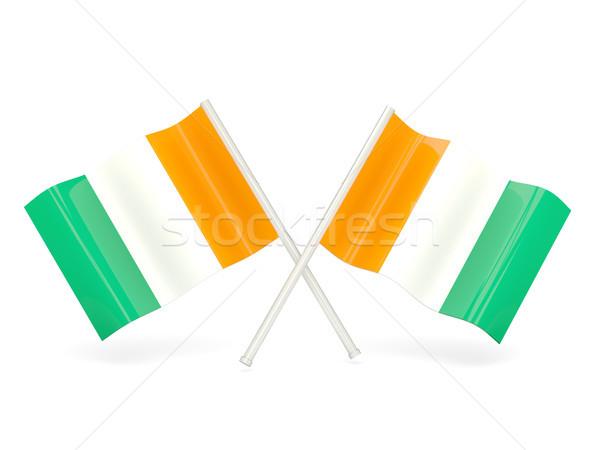 Flag of cote d Ivoire Stock photo © MikhailMishchenko