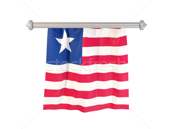 Pennant with flag of liberia Stock photo © MikhailMishchenko