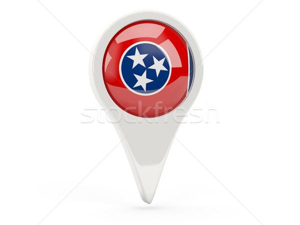 Pavillon broches Tennessee États-Unis locale drapeaux Photo stock © MikhailMishchenko