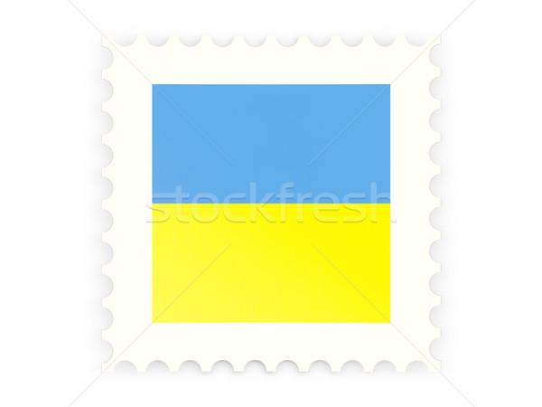 アイコン ウクライナ 孤立した 白 にログイン ストックフォト © MikhailMishchenko