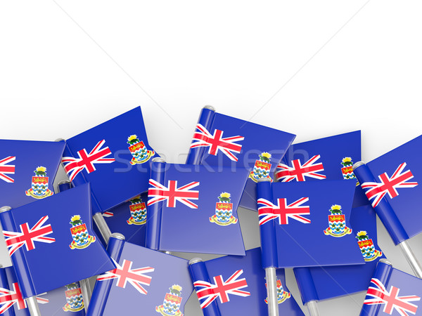 Flag pin of cayman islands Stock photo © MikhailMishchenko