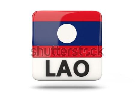 Miłości Laos podpisania odizolowany biały serca Zdjęcia stock © MikhailMishchenko