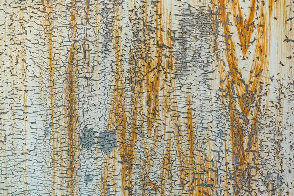 Ferro superficie metallica primo piano arrugginito texture costruzione Foto d'archivio © MikhailMishchenko