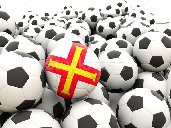 Voetbal vlag regelmatig zomer land Stockfoto © MikhailMishchenko