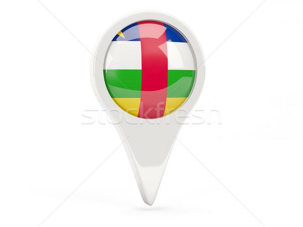 Round flag icon of central african republic Stock photo © MikhailMishchenko