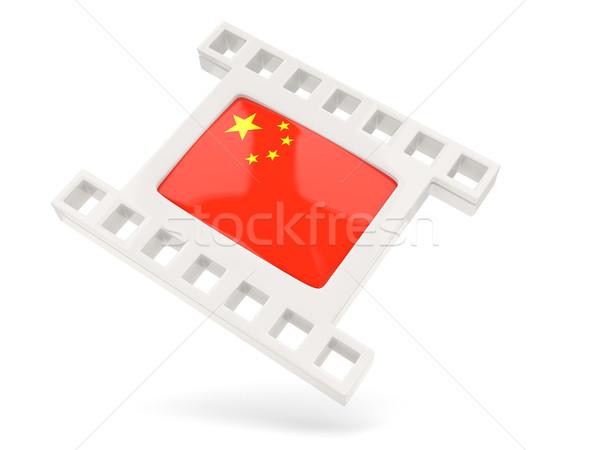 Movie icon with flag of china Stock photo © MikhailMishchenko