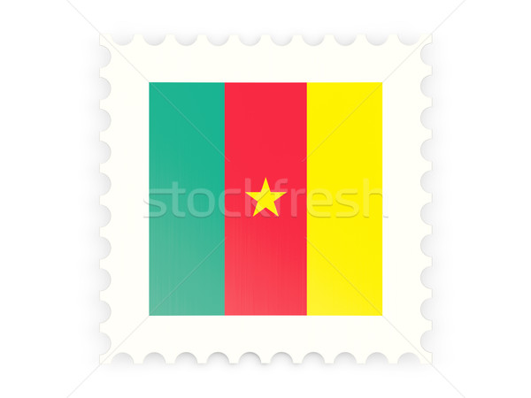 Postage stamp icon of cameroon Stock photo © MikhailMishchenko