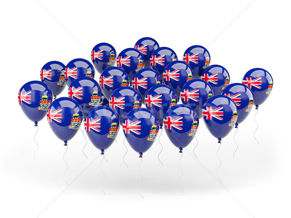 Balloons with flag of cayman islands Stock photo © MikhailMishchenko