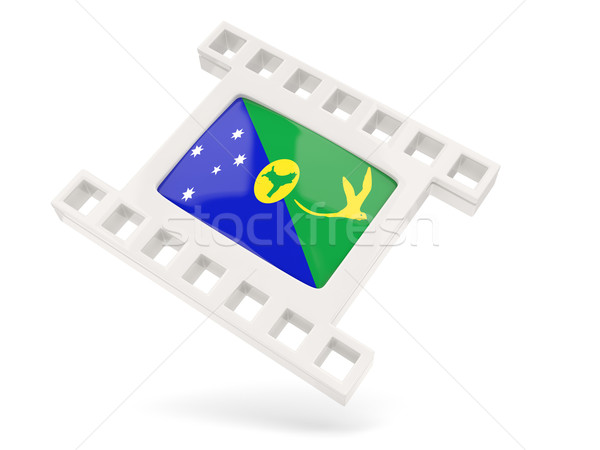 Movie icon with flag of christmas island Stock photo © MikhailMishchenko