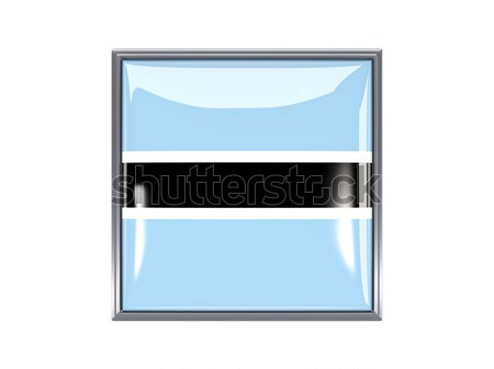 Square icon with flag of ukraine Stock photo © MikhailMishchenko