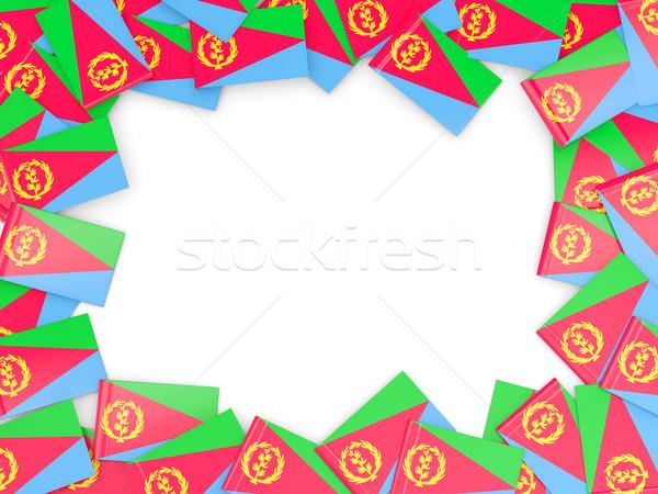 кадр флаг Эритрея изолированный белый Сток-фото © MikhailMishchenko