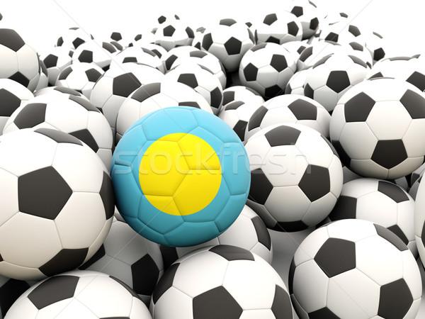 サッカー フラグ パラオ 夏 ストックフォト © MikhailMishchenko