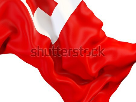 Waving flag of ussr Stock photo © MikhailMishchenko