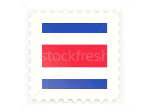 почтовая марка икона Коста-Рика изолированный белый почты Сток-фото © MikhailMishchenko