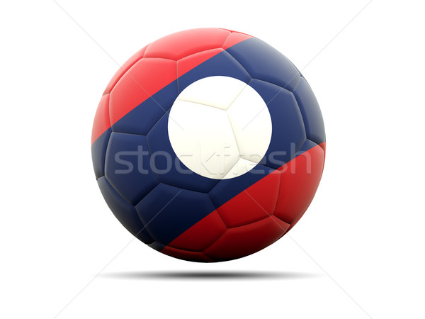 Football pavillon Laos 3d illustration football sport Photo stock © MikhailMishchenko