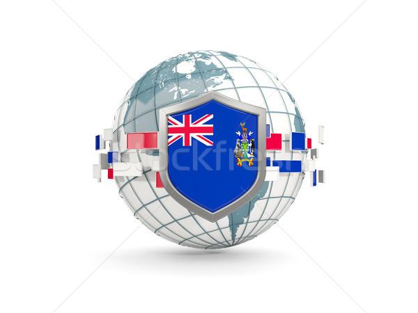 мира щит флаг юг Грузия сэндвич Сток-фото © MikhailMishchenko
