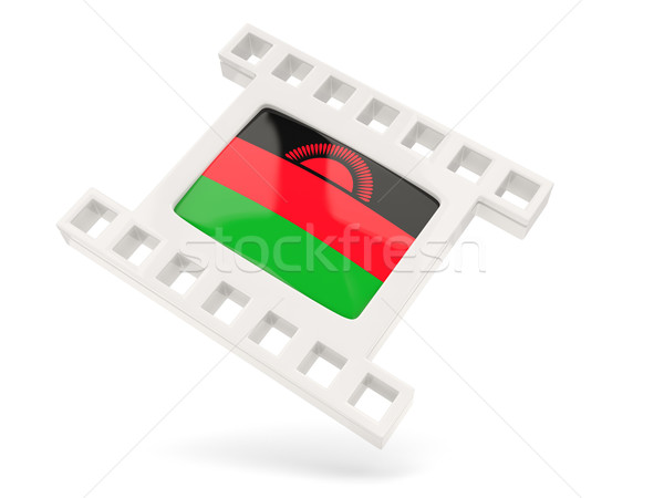 Movie icon with flag of malawi Stock photo © MikhailMishchenko