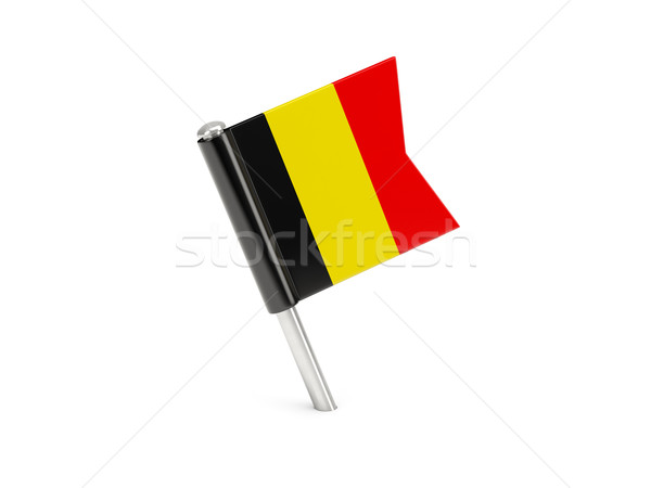 Flag pin of belgium Stock photo © MikhailMishchenko