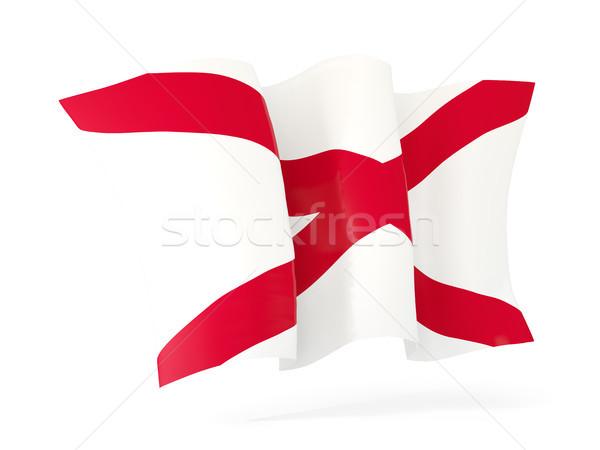 Alabama bandera icono Estados Unidos Foto stock © MikhailMishchenko
