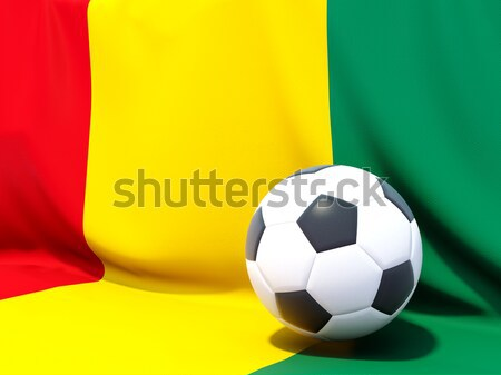 Flag of togo with football in front of it Stock photo © MikhailMishchenko