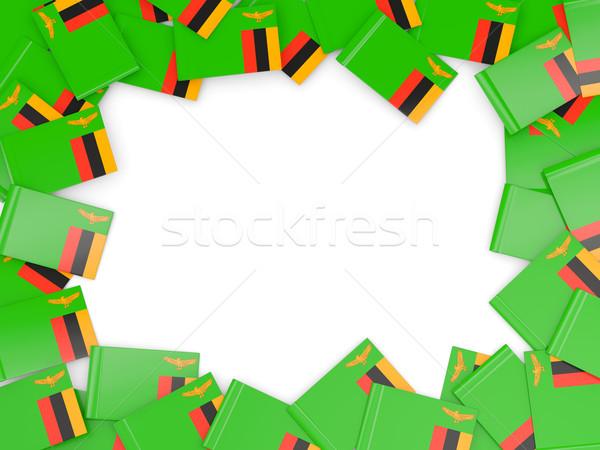 кадр флаг Замбия изолированный белый Сток-фото © MikhailMishchenko