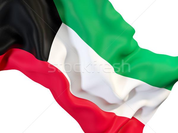 флаг Кувейт 3d иллюстрации путешествия Сток-фото © MikhailMishchenko