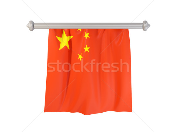Pennant with flag of china Stock photo © MikhailMishchenko