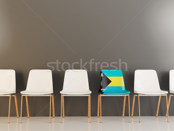 椅子 フラグ バハマ 白 チェア ストックフォト © MikhailMishchenko