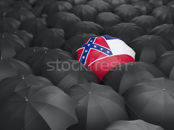 Mississippi bandiera ombrello Stati Uniti locale bandiere Foto d'archivio © MikhailMishchenko