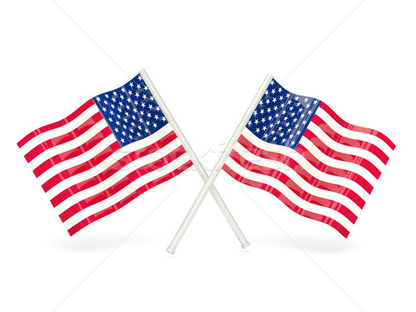 Flag of united states of america Stock photo © MikhailMishchenko