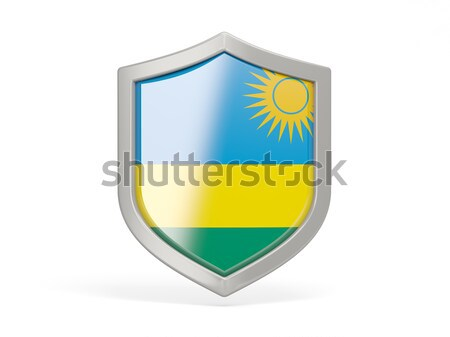 Shield icon with flag of bahamas Stock photo © MikhailMishchenko