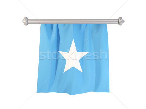 フラグ ソマリア 孤立した 白 3次元の図 ラベル ストックフォト © MikhailMishchenko