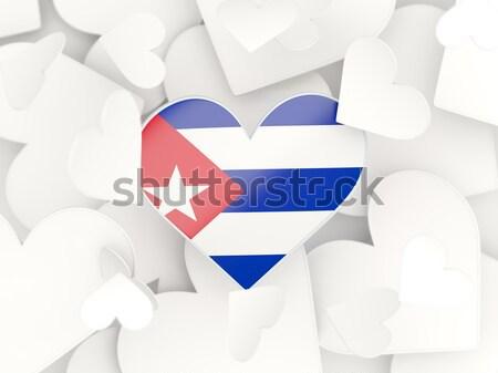 флаг Куба баннер иллюстрация символ Сток-фото © MikhailMishchenko