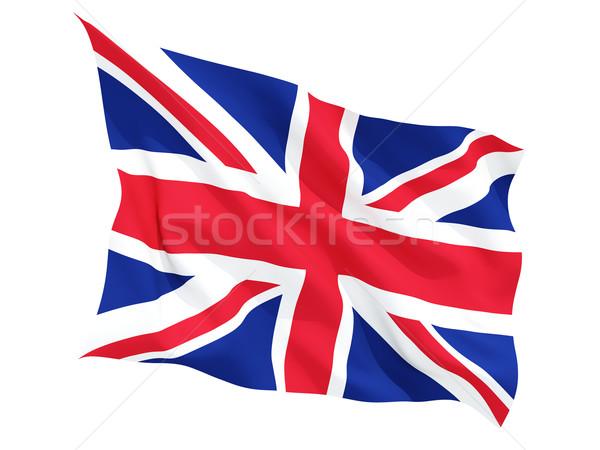 フラグ イギリス 孤立した 白 ストックフォト © MikhailMishchenko