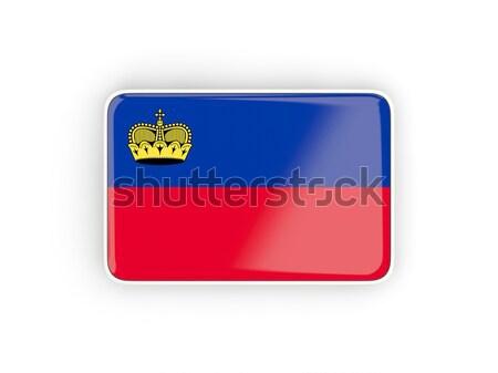 квадратный икона флаг Габон тень знак Сток-фото © MikhailMishchenko