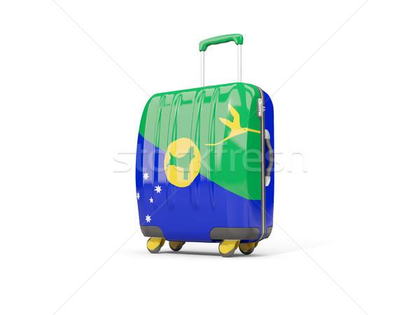 荷物 フラグ クリスマス 島 スーツケース 孤立した ストックフォト © MikhailMishchenko