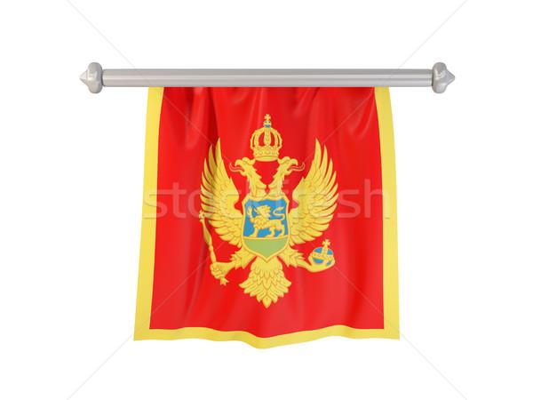 Pennant with flag of montenegro Stock photo © MikhailMishchenko