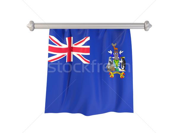 Zászló dél Grúzia szendvics sziget szigetek Stock fotó © MikhailMishchenko